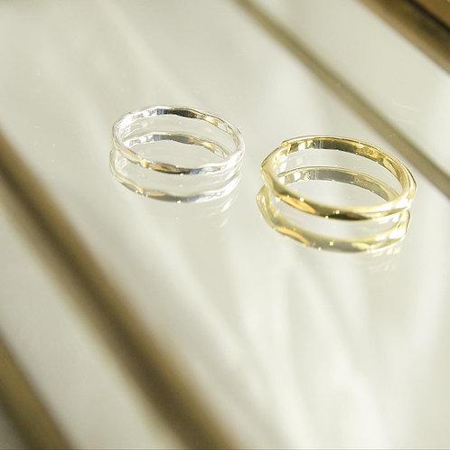 Minimal faced ring