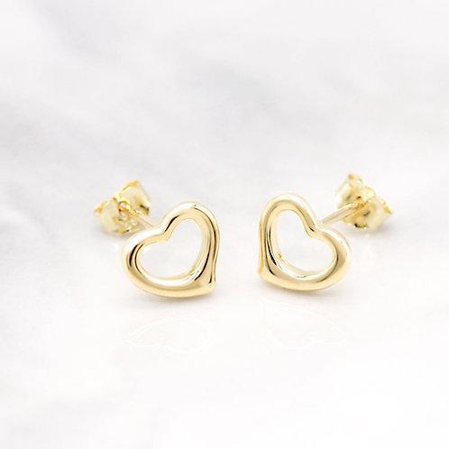 Open Heart earring