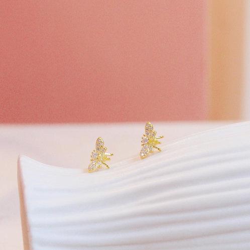 HoneyBee Stud Earrings