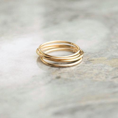 Dainty Basic Thread Ring