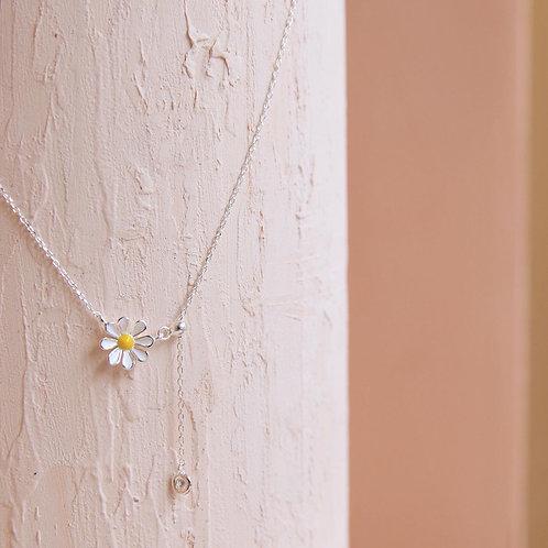 Cute Little Daisy Adjustable Necklace