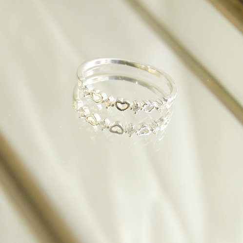 Heart and czs ring