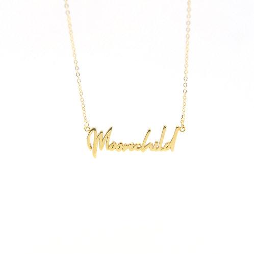 Custom Handwritting Necklace