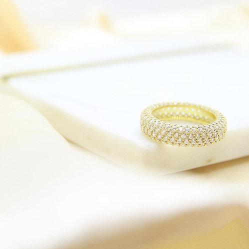 CZ Mesh Eternity Ring