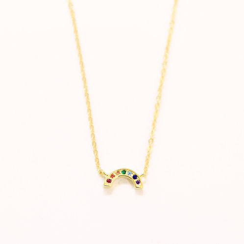 Rainbow Stones Necklace