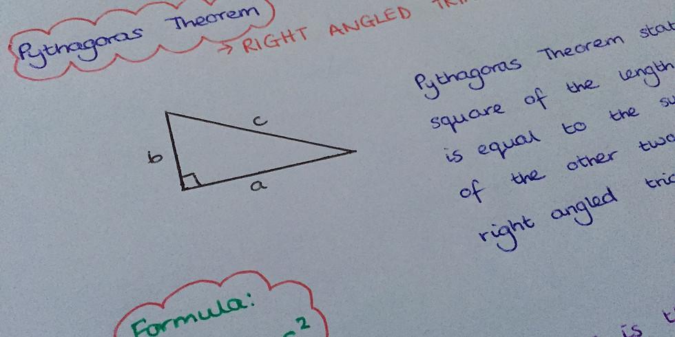 Free GCSE Revision - 11am Pythagoras' Theorem and Trigonometry
