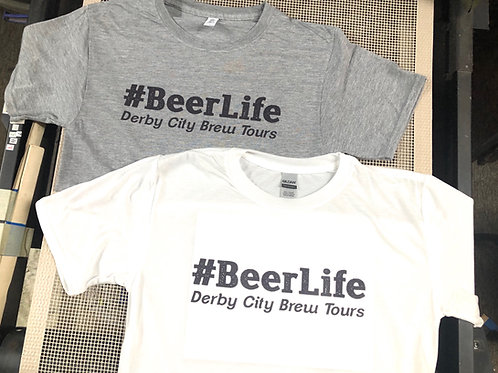 Official #BeerLife T-Shirt (Free Shipping)