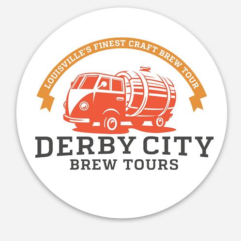 Brew Bus Stickers