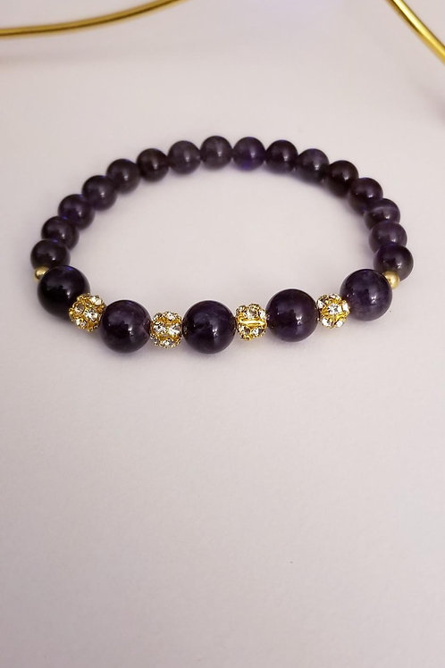 Dark Amethyst Bling