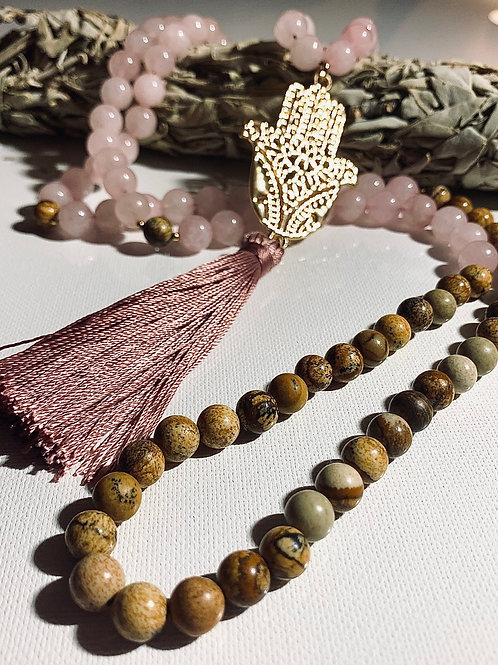 Self Love Mala/Prayer Necklace