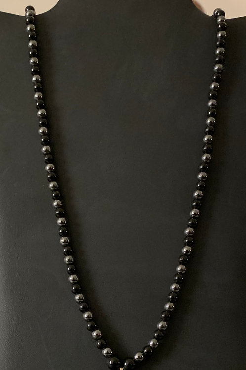 Black Jasper/Hematite Necklace
