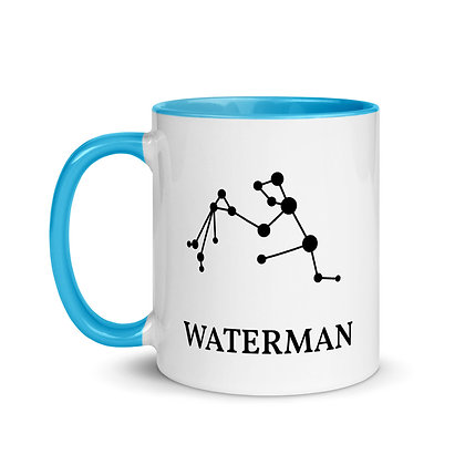 Waterman zodiac sterrenbeeld koffie-thee mok