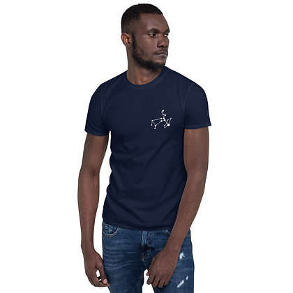 Sagittarius T-Shirt left front logo