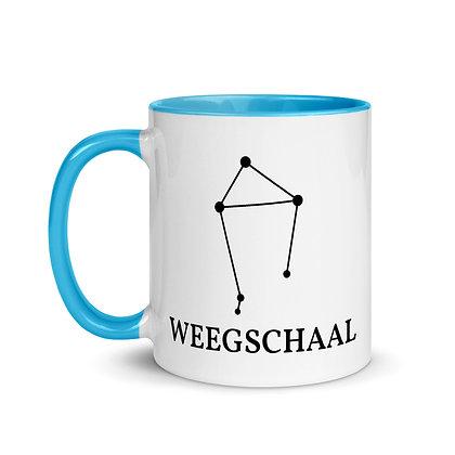 Weegschaal zodiac sterrenbeeld koffie-thee mok