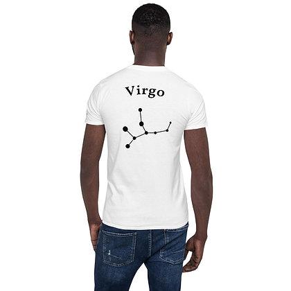 Maagd-Virgo T-Shirt sterrenbeeld op de rug