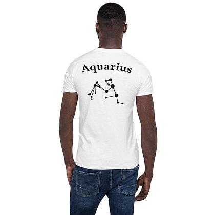 Waterman-Aquarius T-Shirt sterrenbeeld op de rug