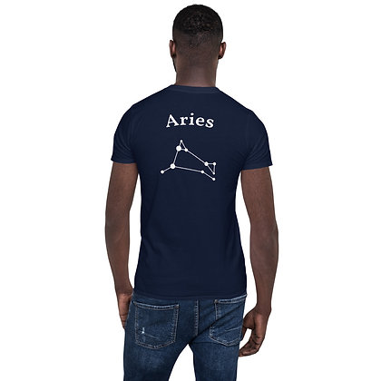 Aries T-Shirt back logo