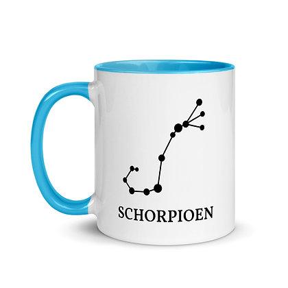Schorpioen zodiac sterrenbeeld koffie-thee mok