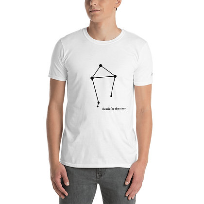 Weegschaal-Libra sterrenbeeld reach for the stars T-Shirt