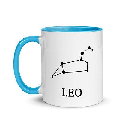 Leo zodiac sterrenbeeld koffie-thee mok
