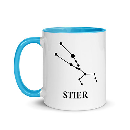 Stier zodiac sterrenbeeld koffie-thee mok