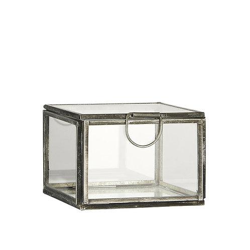 Glasschachtel mit Deckel