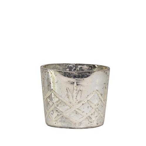 Teelicht antique silber