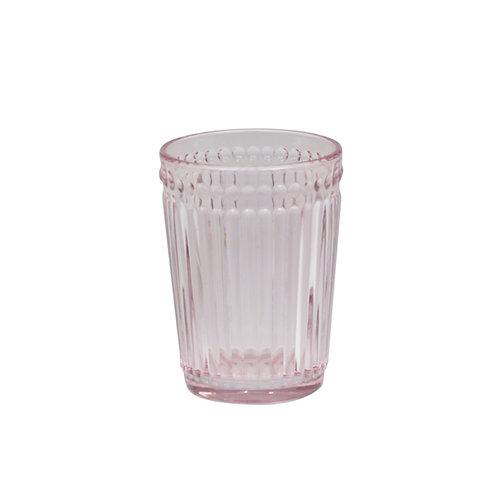 Zahnputzglas mit Perlenkante