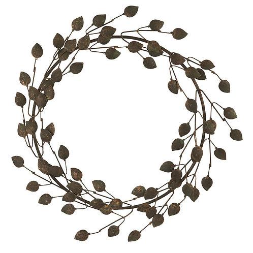 Kranz zum hängen mit Blätter