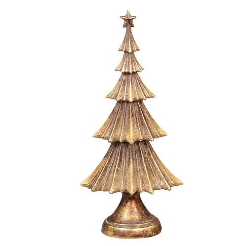 Weihnachtsbaum Antik Gold