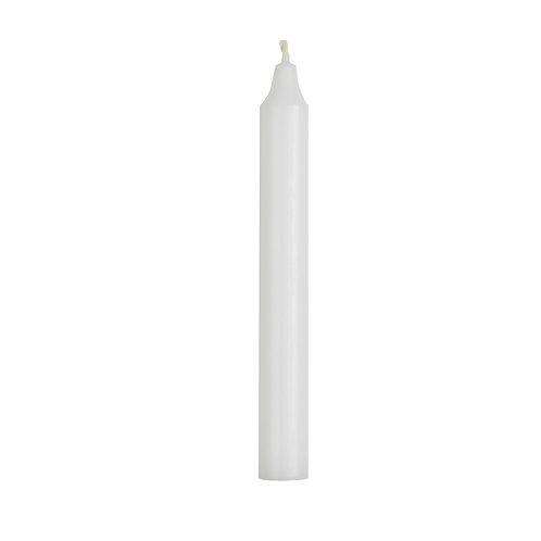 Kerze 18cm Weiß