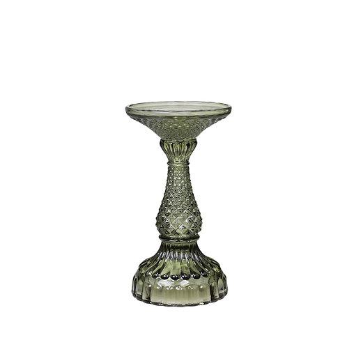 Kerzenhalter mit Diamantschliff