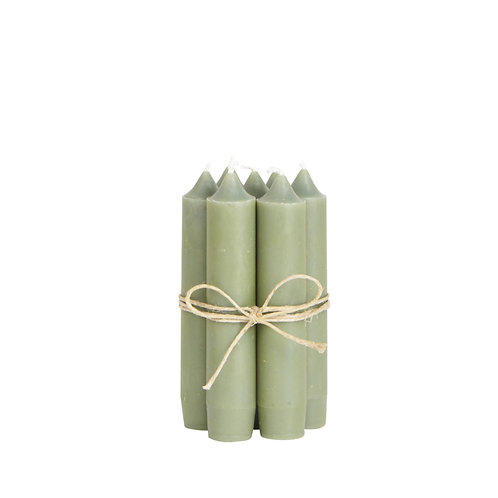 Kerze 11cm Olive