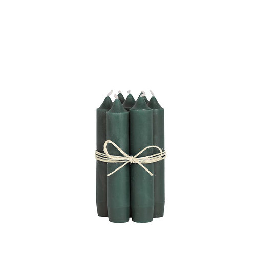 Kerze 11cm Moosgrün