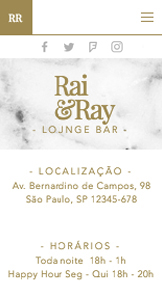 Bares e Clubes website templates – Lounge bar