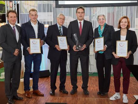 OENOLOGEN-NACHWUCHSPREIS: Auf der Intervitis 2018 wurden die Oenologen-Nachwuchspreise verliehen