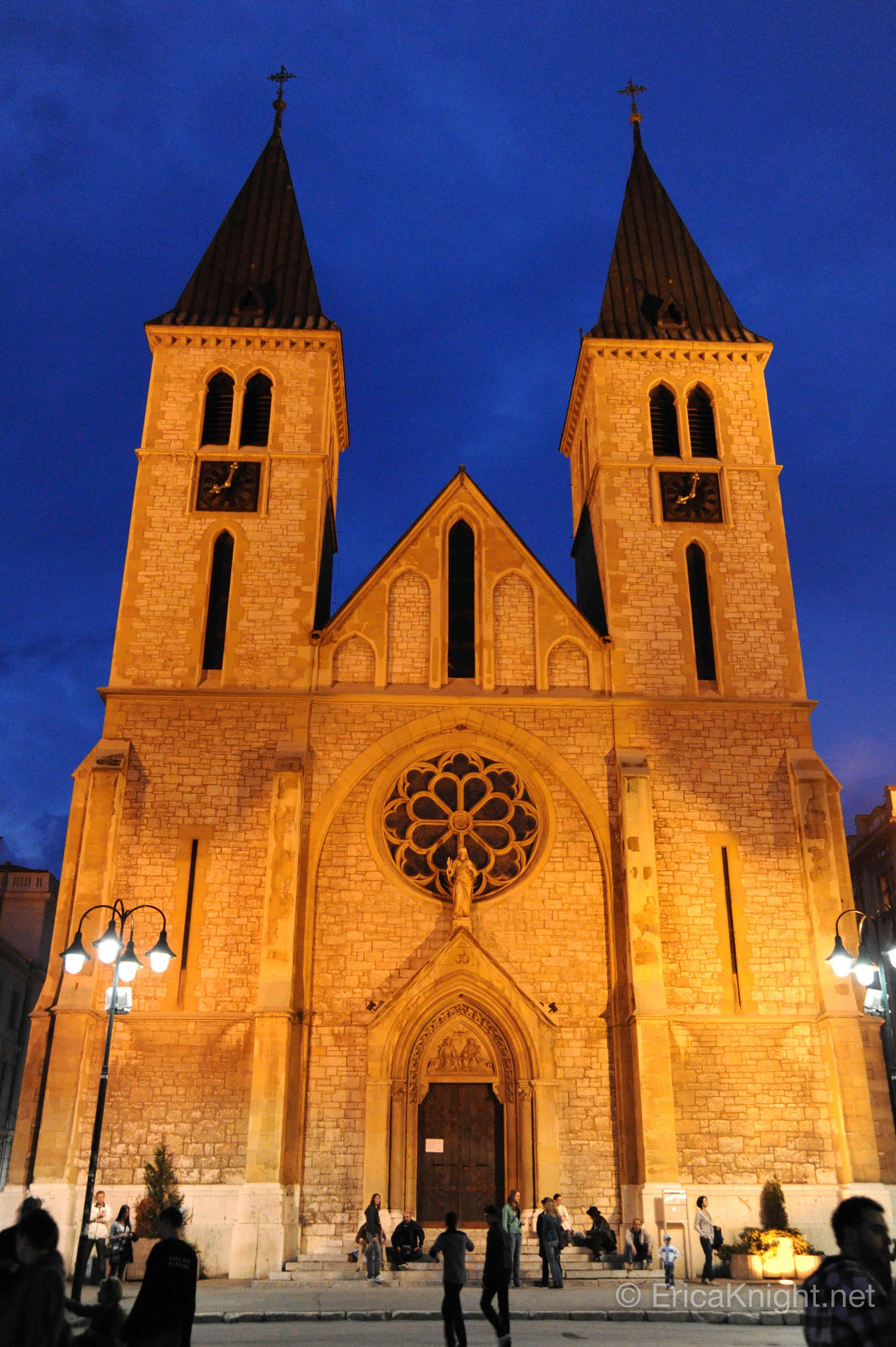 Church - Downtown Sarajevo, Bosnia