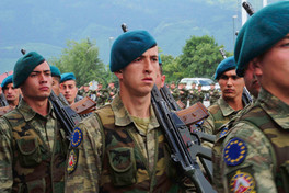 EUFOR Soldiers on Parade