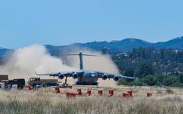 USAF C-17 Arrives