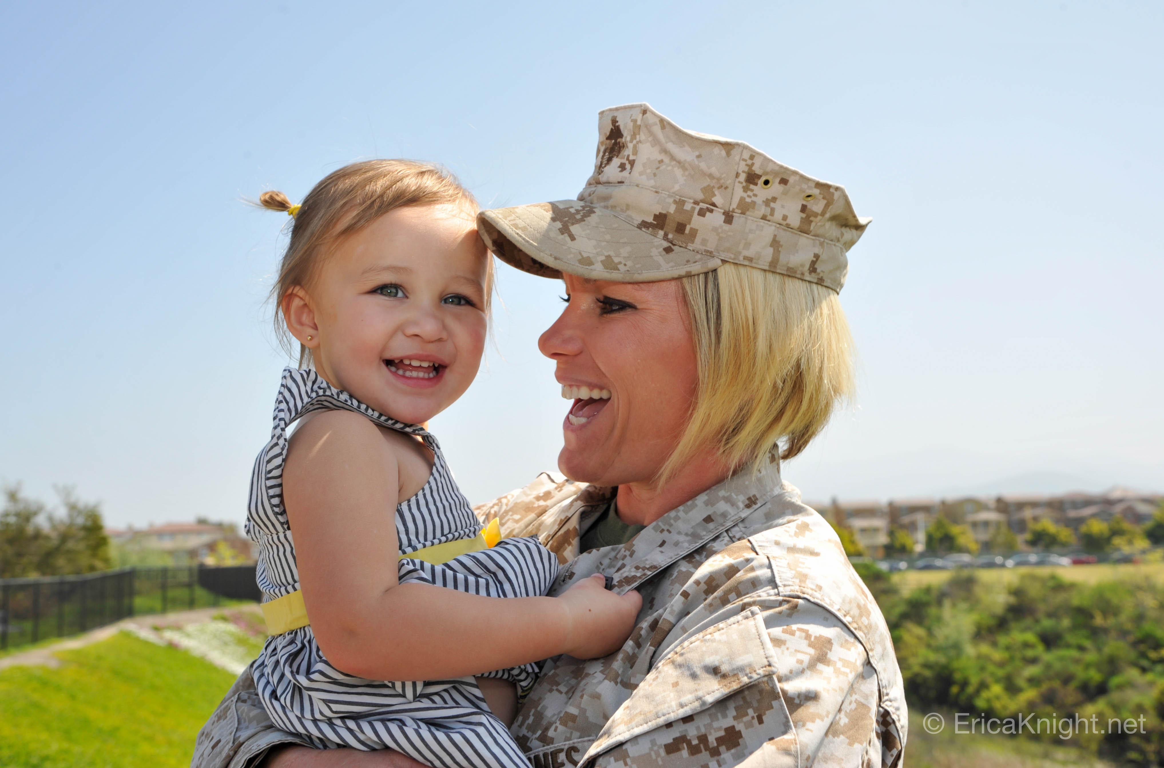 Gunny Sgt Richardson & Sky - San Diego, CA