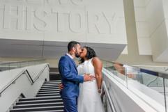 Newseum Wedding, Washington DC