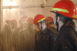 Sailors Fight Flooding During Training