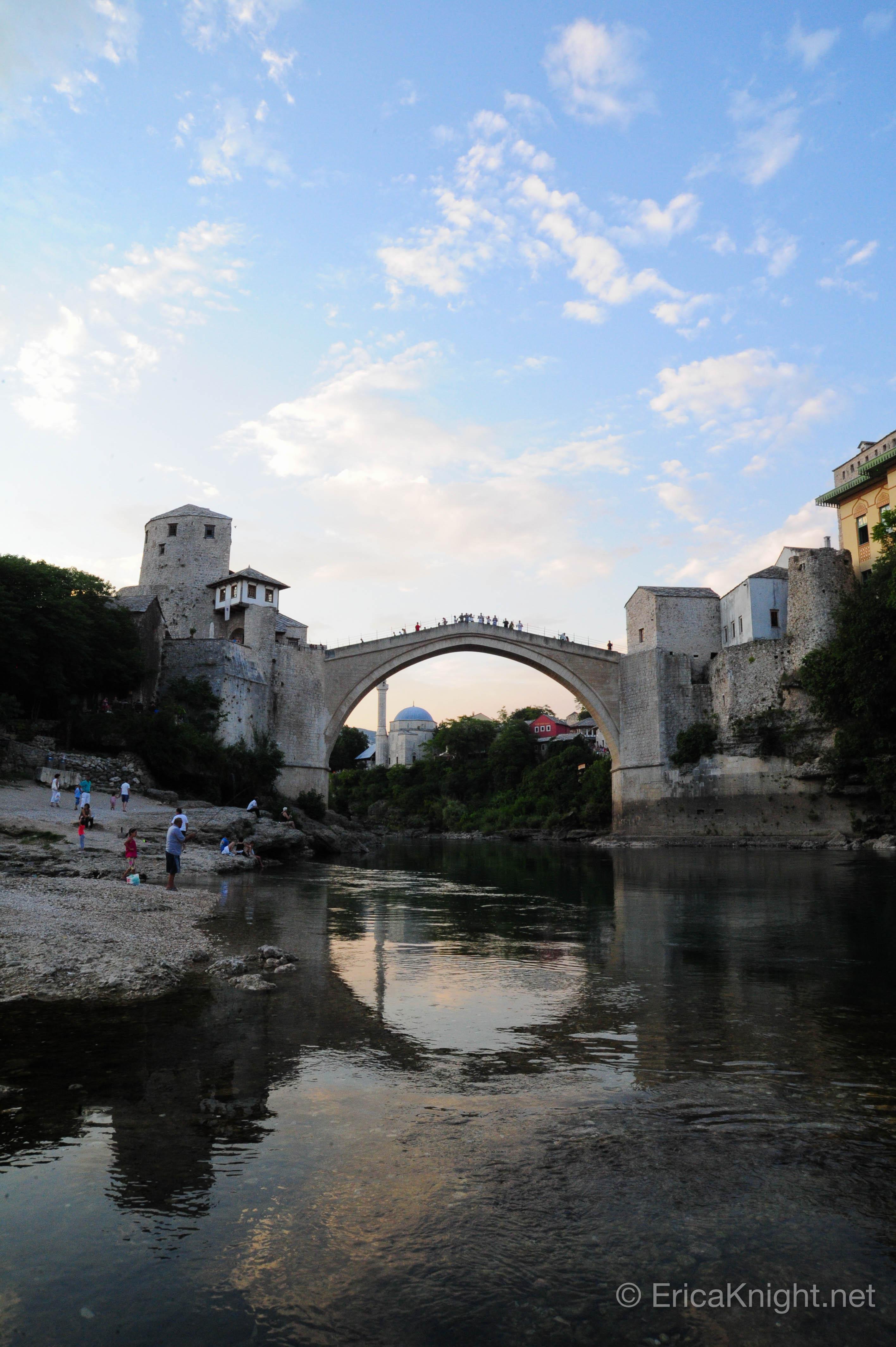 The Mostar Bridge - Mostar, Bosnia