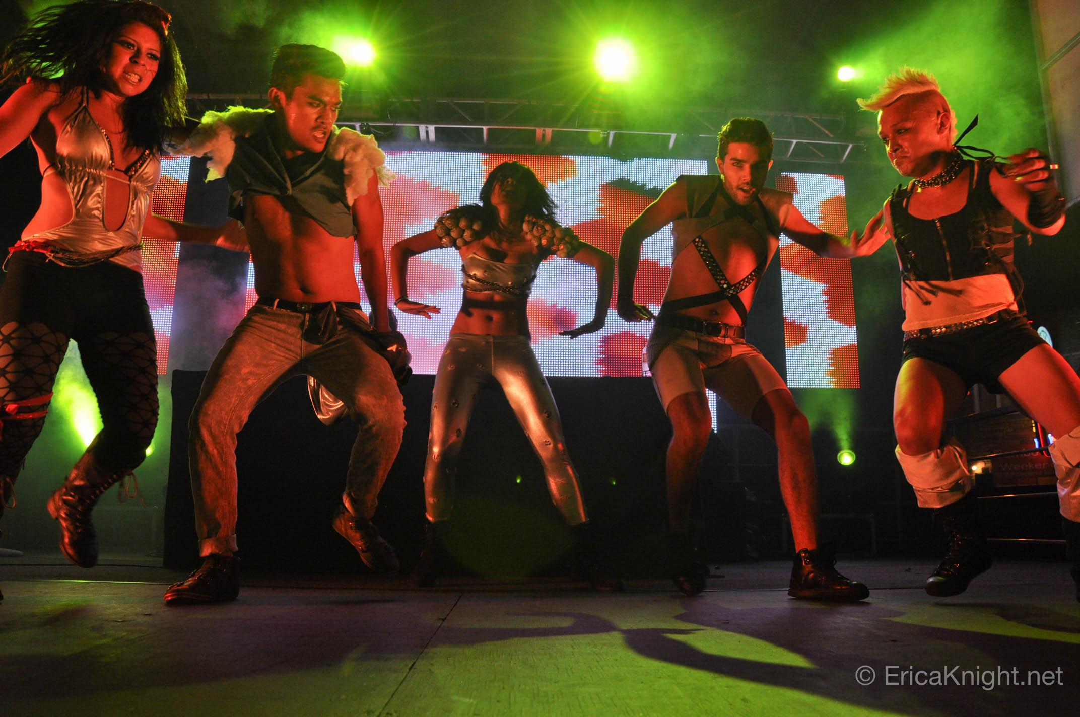 Neon Hitch dancers - San Diego, CA