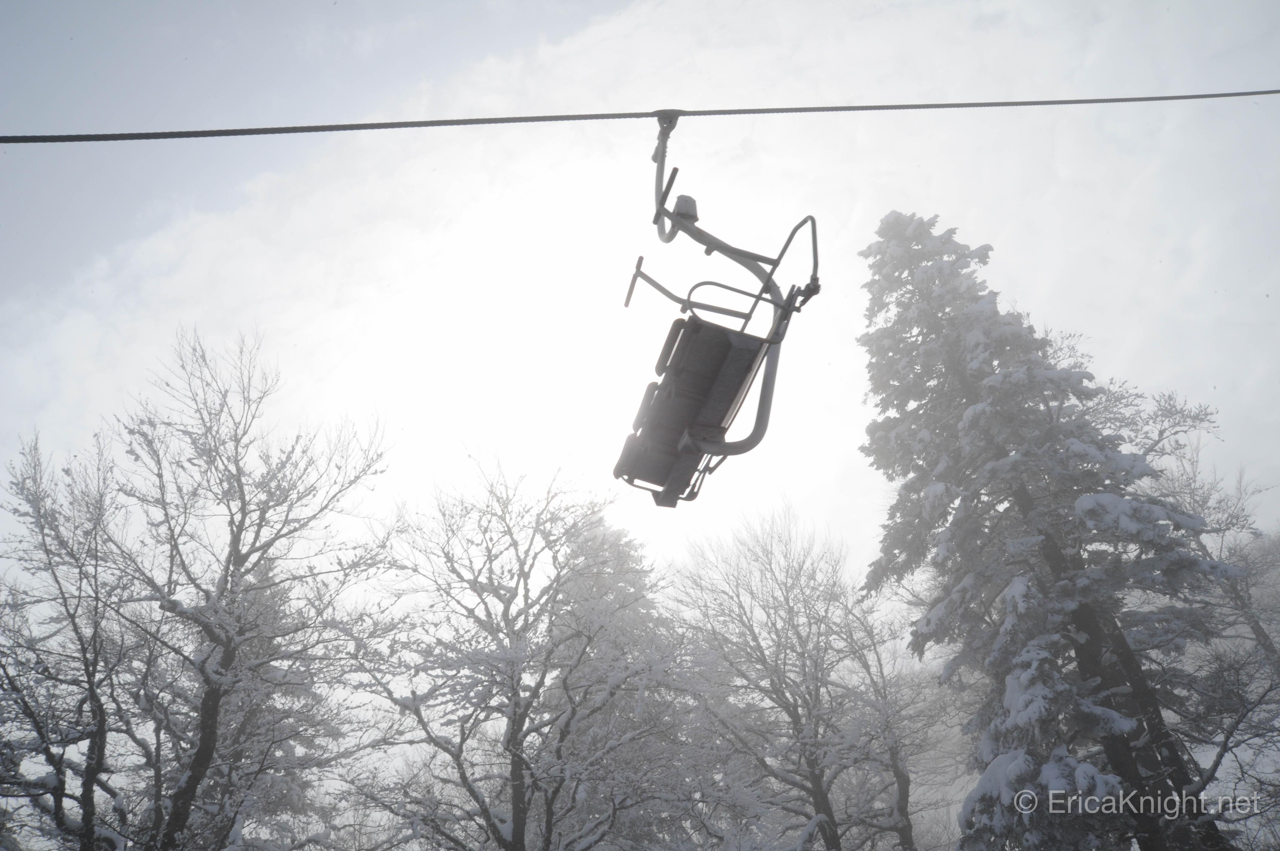Frozen Ski Lift - Sarajevo, Bosnia