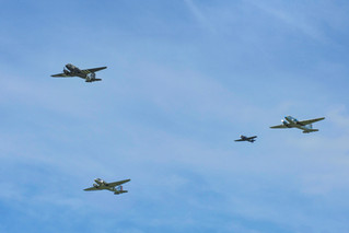 C-47 Skytrains Above 70th Anniversary of