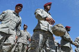 Airborne U.S. Army Soldiers Participate