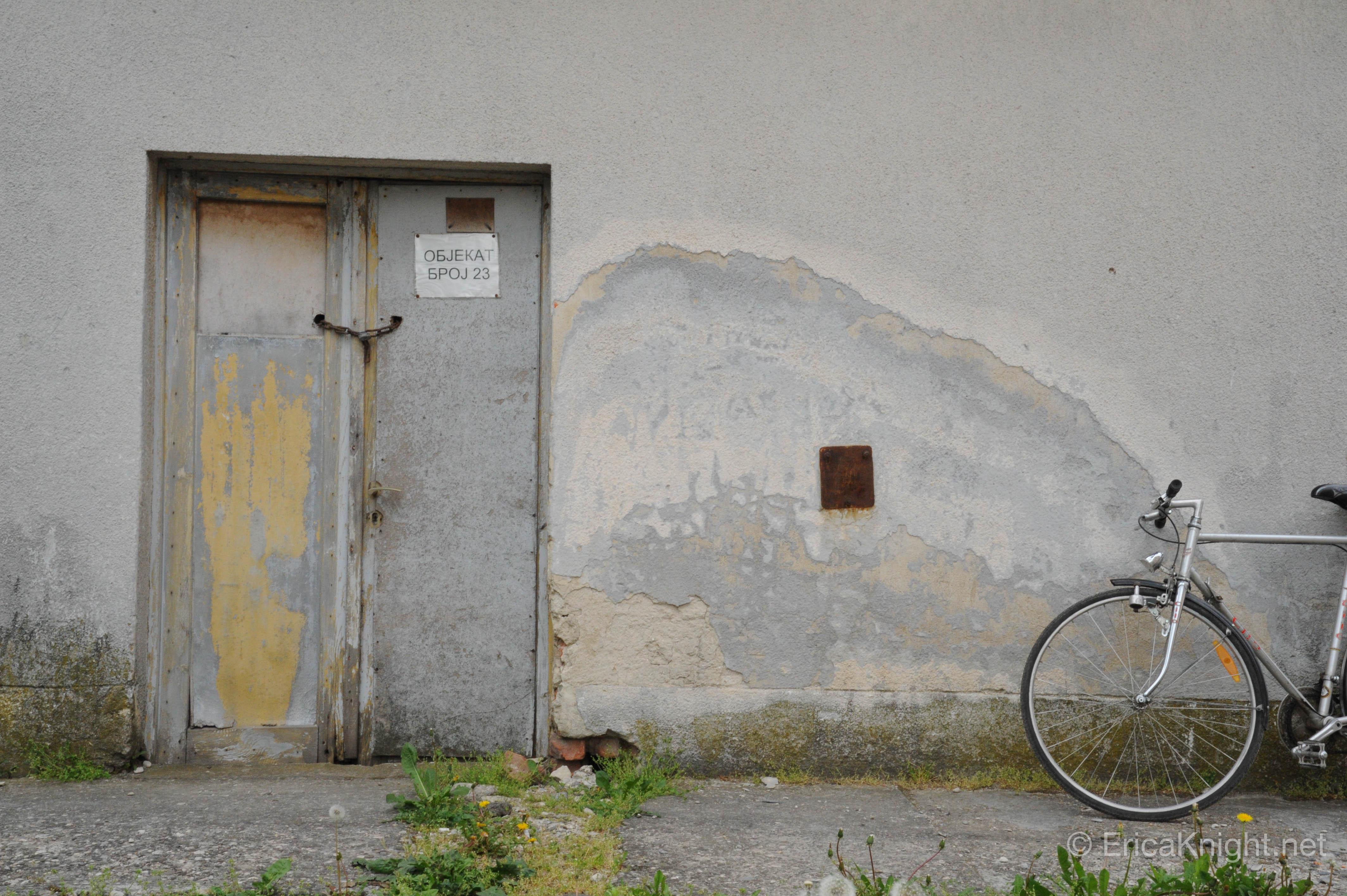 Doorway & Bike - Sarajevo, Bosnia