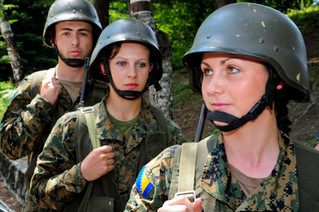 Bosnian Armed Forces Recruits in Trainin