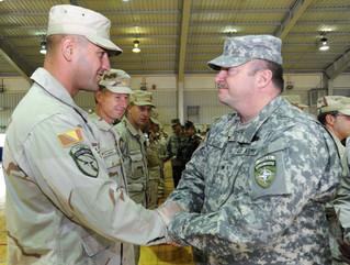 U.S. NATO General Enyeart Congratulates